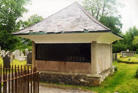 Squire Cabbel's Tomb in Buckfastleigh Church Yard