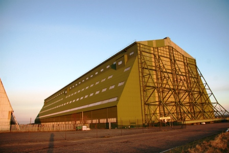 The haunted Cardington Hangar in Bedfordhsire