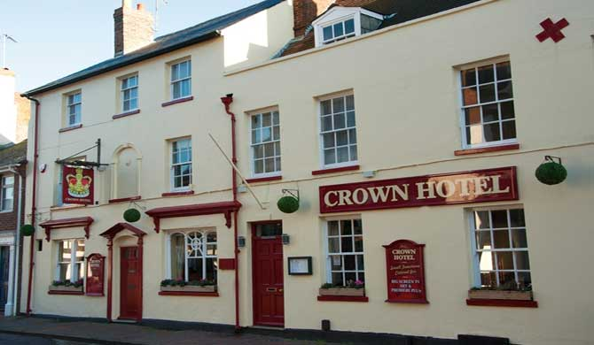 The Crown Hotel.