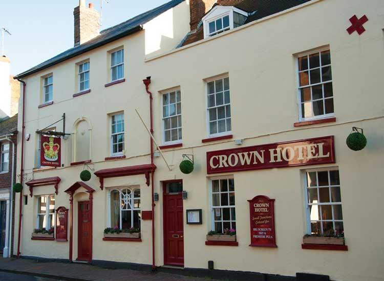 The Crown Hotel Poole In Dorset