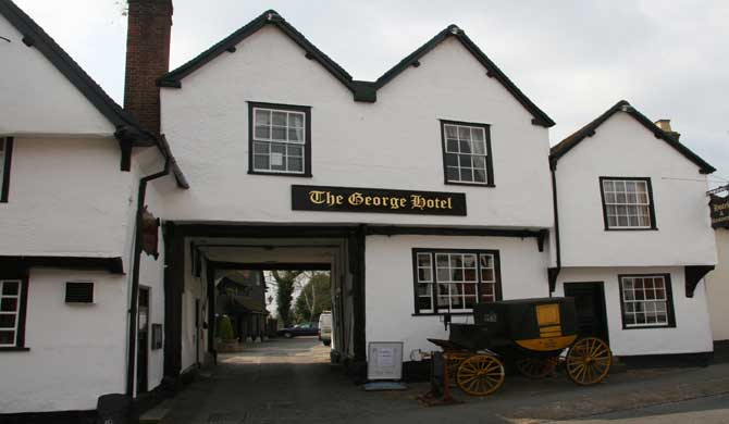 The George Inn, Dorchester.