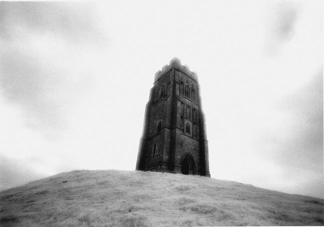 The Church Tower on Glastonbury Tor.