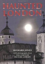 The front cover of the book Haunted London.
