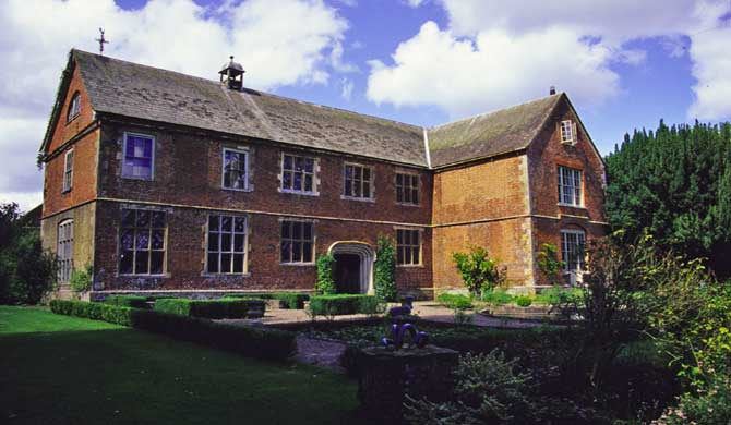 The haunted Hellens Manor in Herefordshire.