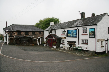 An exterior view of the Highwayman Inn in Devon.