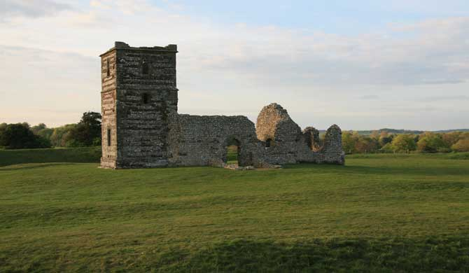 Knowlton Church.
