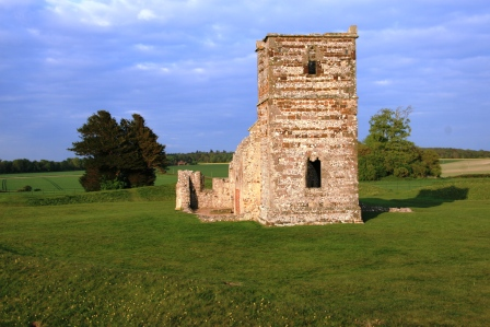 The Tower of Knowlton Church.