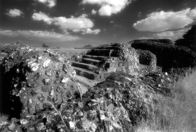 The abandoned ruins of Old Sarum.