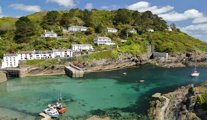 A view of Polperro.