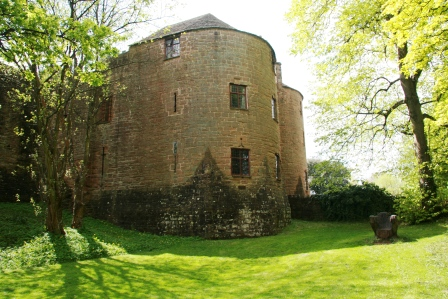 A tower at St Briavels Haunted Castle.