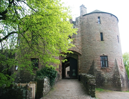 The gatehouse of St Briavels Castle.