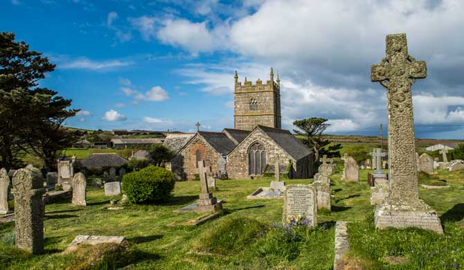 St Senara's Church, Zennor.
