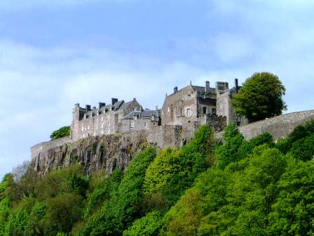 Stirling castle, Scotland.