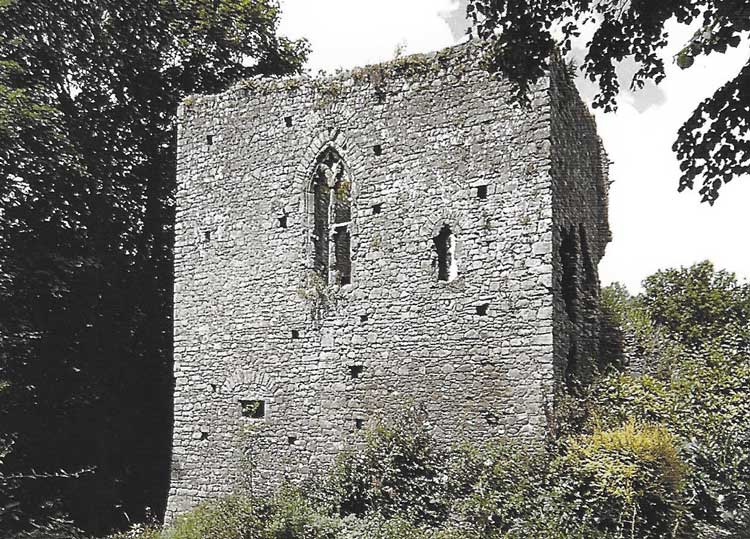 Tiverton Castle.