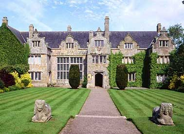 Trerice manor in Cornwall.
