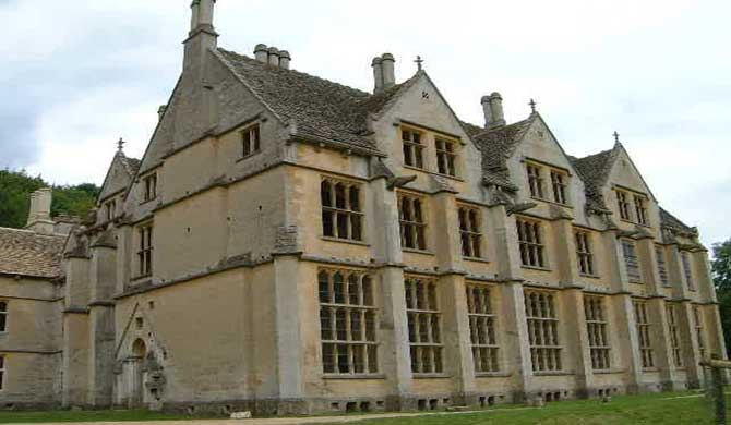 Woodchester Mansion.